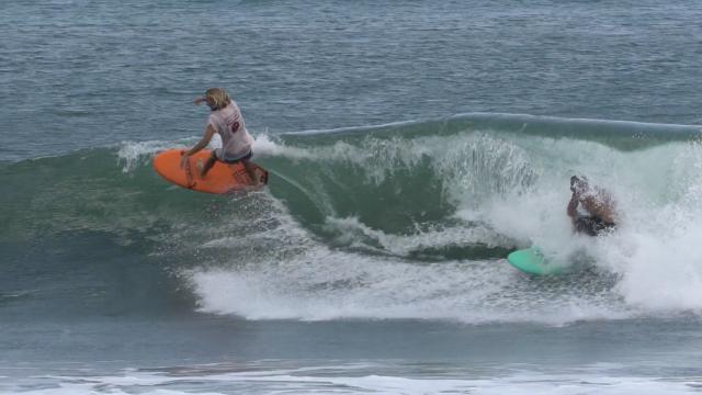 BLAIR CONKLIN SCORING EPIC SURF IN NICARAGUA