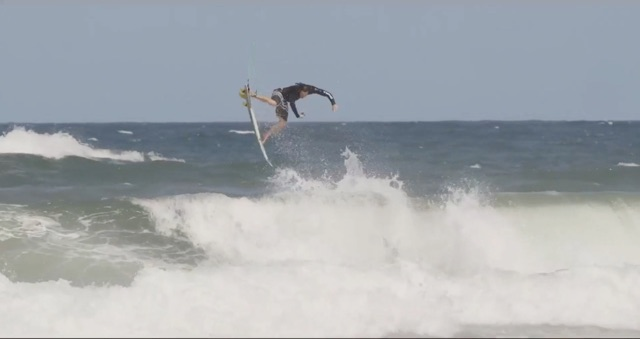 Jordy Smith fine tuning in Durban, South Africa