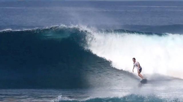 Nathan Monchet x Jye Byrnes Surfboards Stubby model