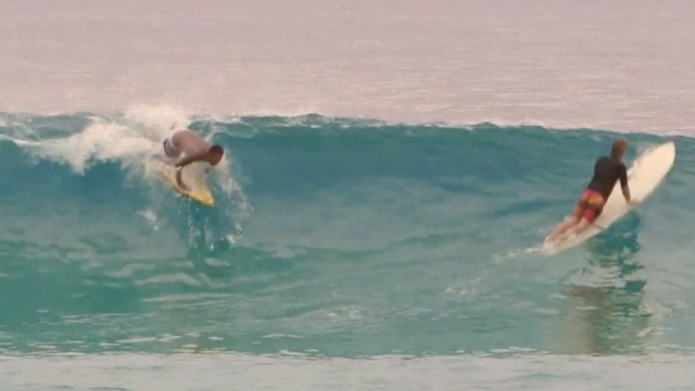 From Garbage to Sea (single fin)