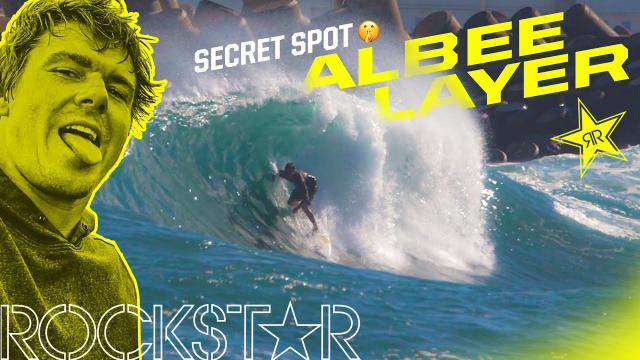 Albee Layer | Secret Surf in Maui