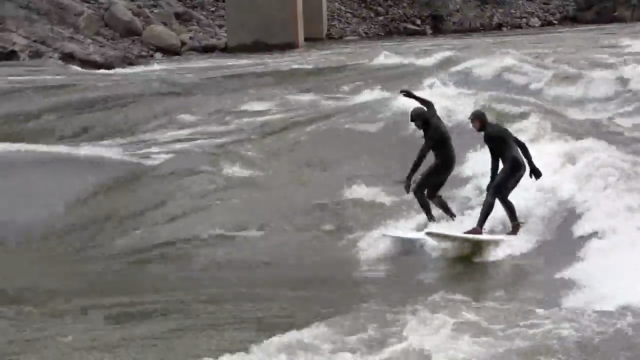 Finless River Surfing