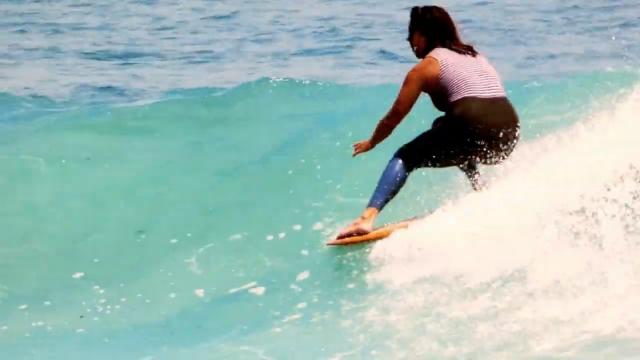 MAKALA SMITH ONE WAVE AT MALIBU - FULL MOON SURF CLUB