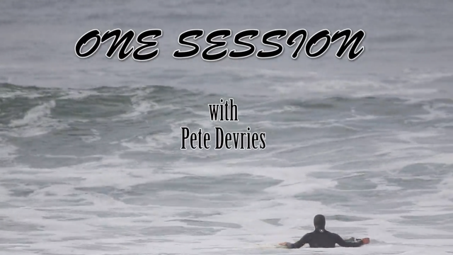 One Session with Pete Devries