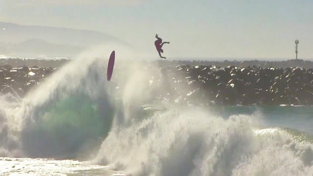 BIG Day at Wedge - Surfers, Bodyboarders & Bodysurfers CHARGING! - October 1, 2018