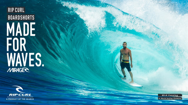 Mick Fanning | Made For Waves by Rip Curl