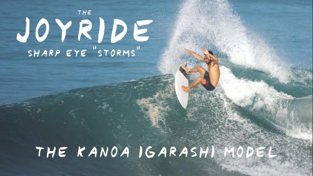 "The Joyride Board Test: Sharp Eye ""Storms"" (The Kanoa Igarashi Model!)"