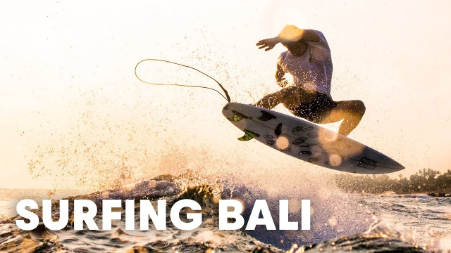 The King of Bali's Free Surf Scene