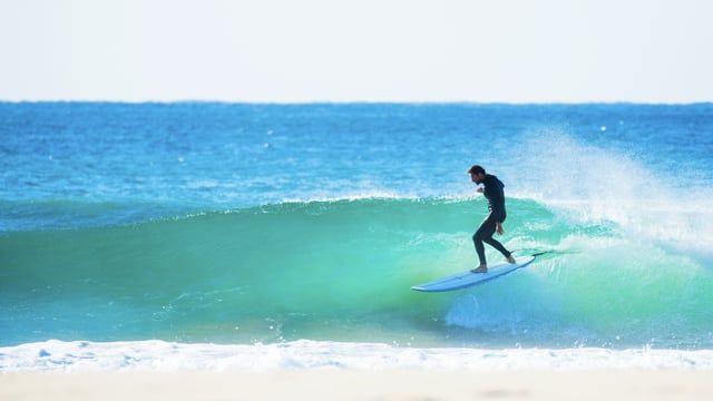 AQSS Salient 7'6 Mid Length Surfboard