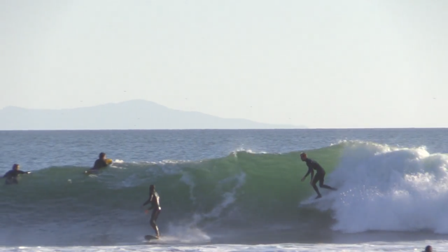 The Cove Surfing Raw | Carpinteria, CA
