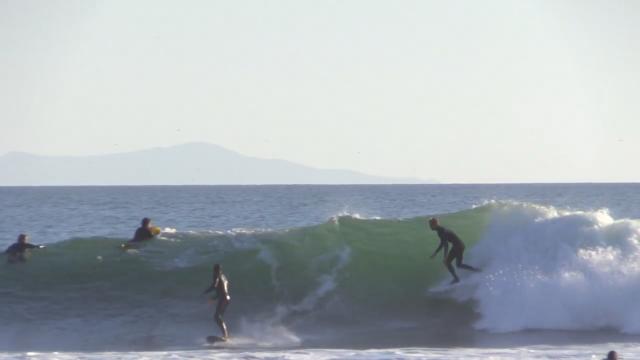 The Cove Surfing Raw | Carpinteria, CA