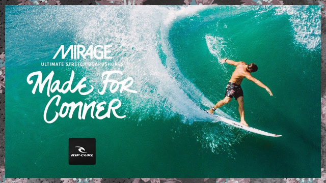 Made For Conner | 2019 Mirage, Made For Waves | Mirage Conner Flyer Boardshort