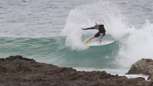 Mick Fanning and Kyuss King Snapper Rocks session