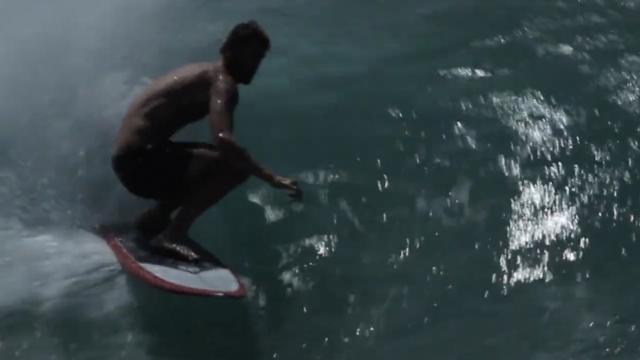 Jye Byrnes Surfboards Boardscape Bonzer model