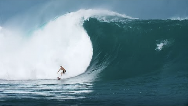 The Monster Indo Swell of July 25th, 2018 Hits Kandui   Amp Sessions
