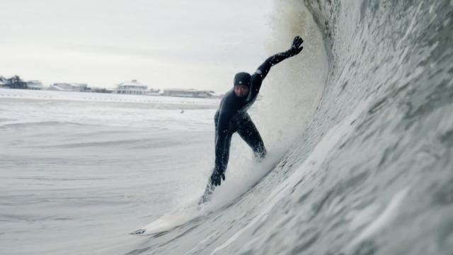 Numb Skulls: New Jersey Winter Surfing Highlights