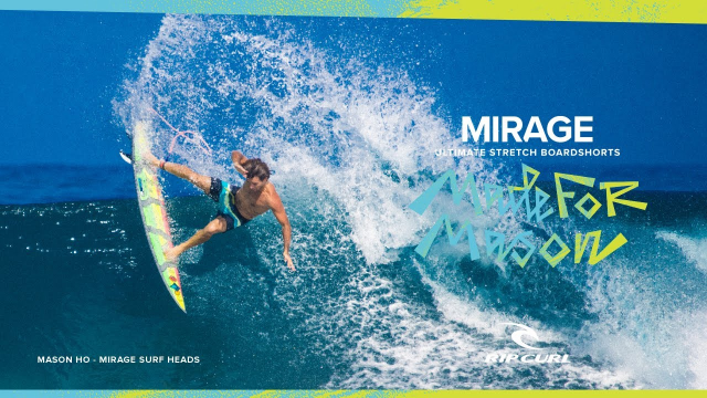 Mirage Surf Heads | Mason Ho | Made For Mason, Made For Waves 2020