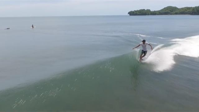 Batukaras Local Surfer 'Tio Nugroho' logged in Reef point