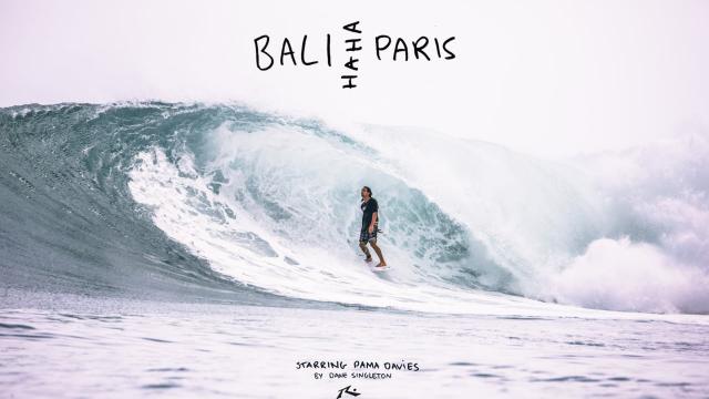 Pama Davies - Bali HAHA Paris