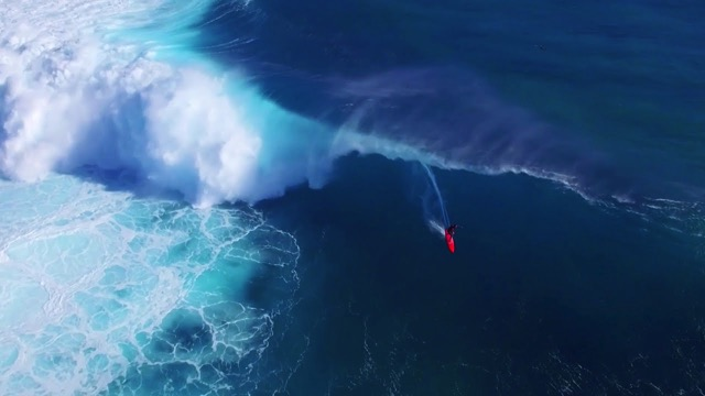 Surfing XXL Cloudbreak from 'Mad Monday' in Fiji: Drone Footage | Sessions