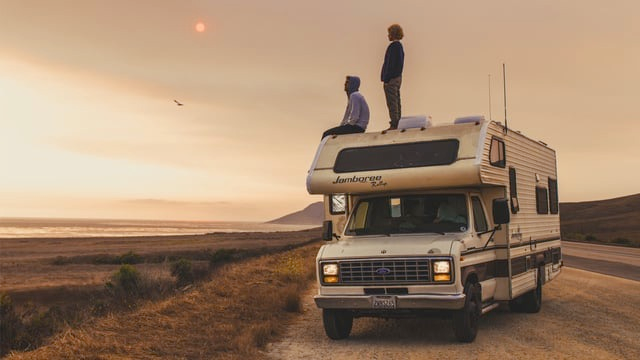 Road surf trip from San Francisco to Los Angeles