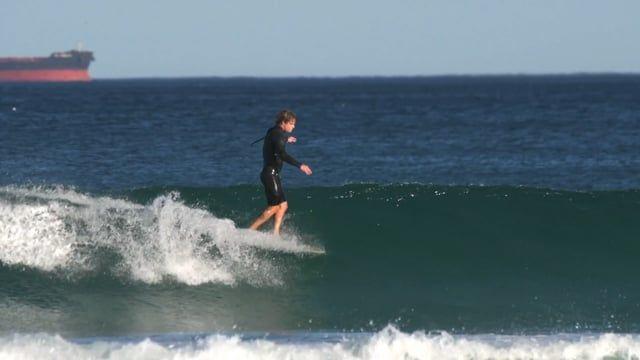 Jye Byrnes Surfboards - Lewie longboard