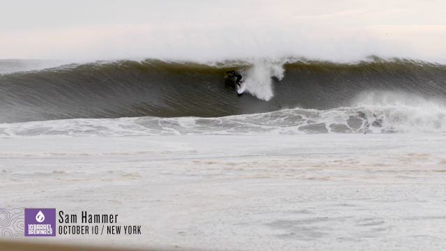 Wave of the Day: Sam Hammer, New York