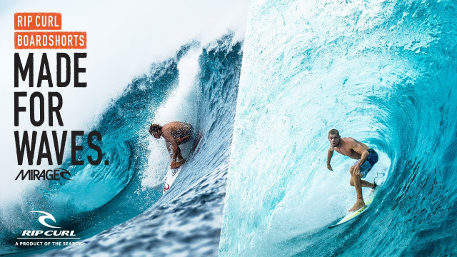 Mick Fanning & Conner Coffin | Made For Waves | Boardshorts by Rip Curl