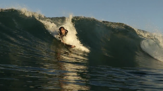 Shaun Wallbank for Surfing Green