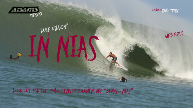 Luke Dillon In Nias - The Century Swell - Web Edit