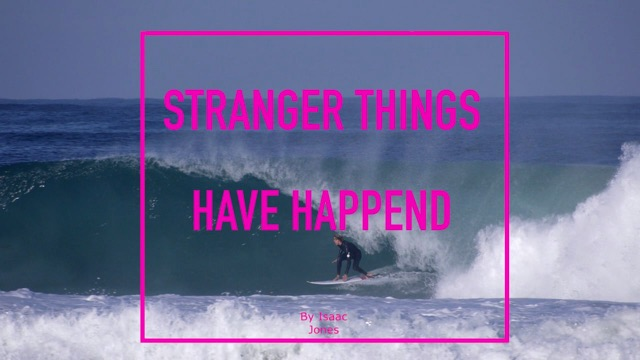 Jacob Willcox | Stranger Things Have Happend