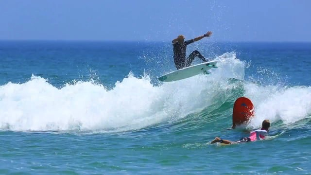 AQSS Flying Fish Surfboard ft Beau Young and Coby Perkovich