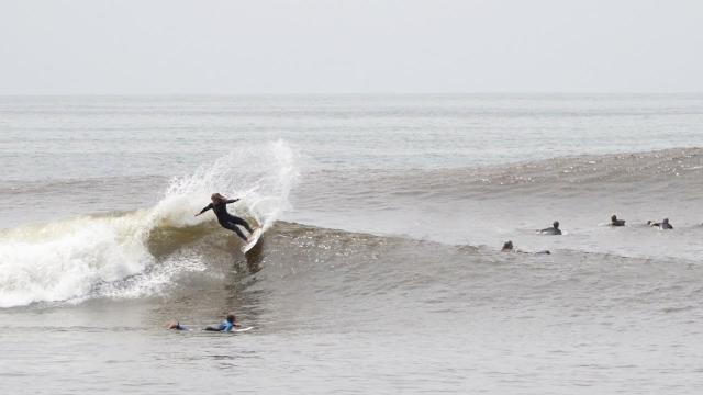 Surfboard leash Block surf POWERLINE LONGBOARD KNEE 10 FT BLACK
