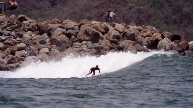 Marc Lacomare and team DC in Costa Rica