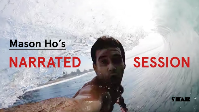 What Does Mason Ho Think About When He's In The Barrel?