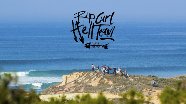 The Rip Curl Hell Team - Portugal 2016