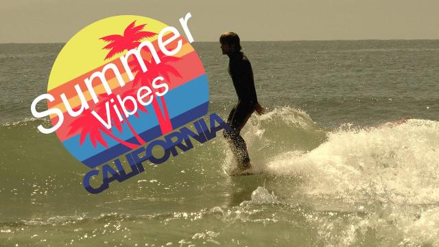 Malibu Summer Surfing Vibes