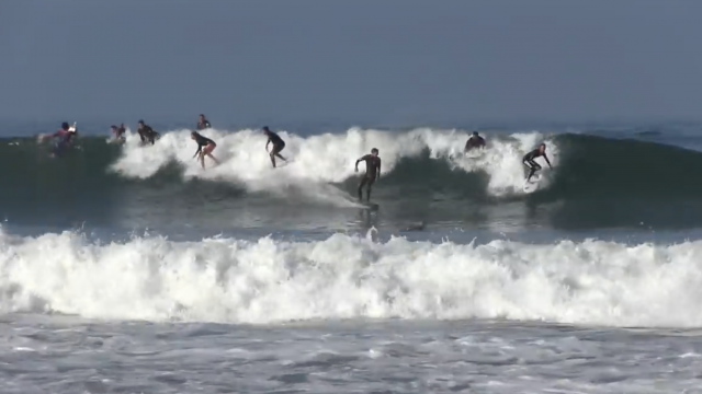 PUMPING Lower Trestles & Kalani Robb surfs a bodyboard
