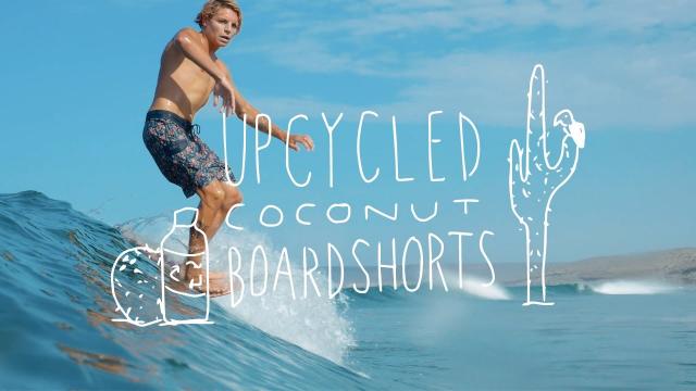 Upcycled Coconut Boardshorts