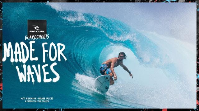 Matt Wilkinson | Made For Waves 2018 | Mirage Spliced Boardshort