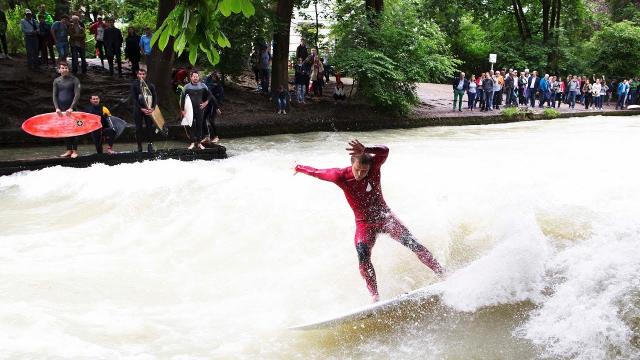 """TEW; Surfing Europe Ep5 """"Surf City, Munich"""""""