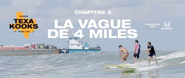 TEXAKOOKS EP3 CHAPITRE 3 - La vague de 4 milles