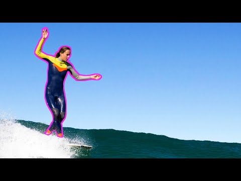 Justine Dupont / Longboard / Few waves in Portugal
