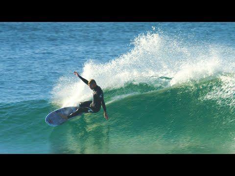 Mick Fanning Surfs The FCS II Keel Fin