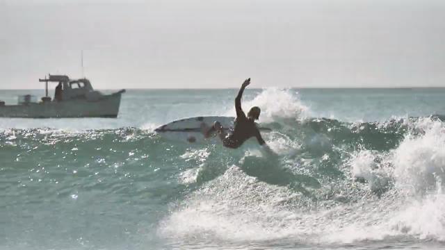 Luke Wyler surfing San Clemente, California