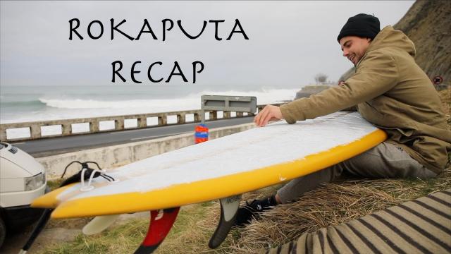 """XL Basque Surfing, Drone footage """"Rokaputa Recap"""""""