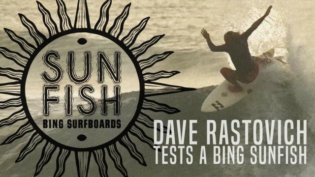 Dave Rastovich Tests a Bing Sunfish