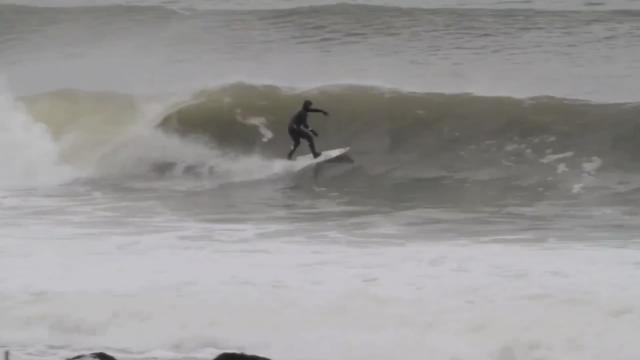 Frozen Moments: Kannon Beach Surf Shop