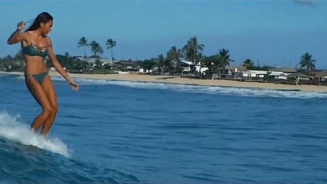 Nini Narvaez Summer Sliding