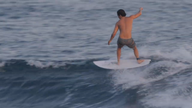Riding Akilas 5'5 twin fin